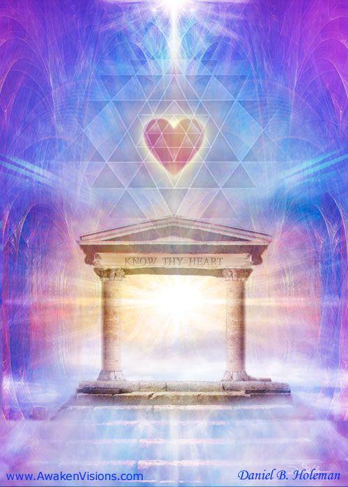 Know Thy Heart Magenta by Daniel B. Holeman