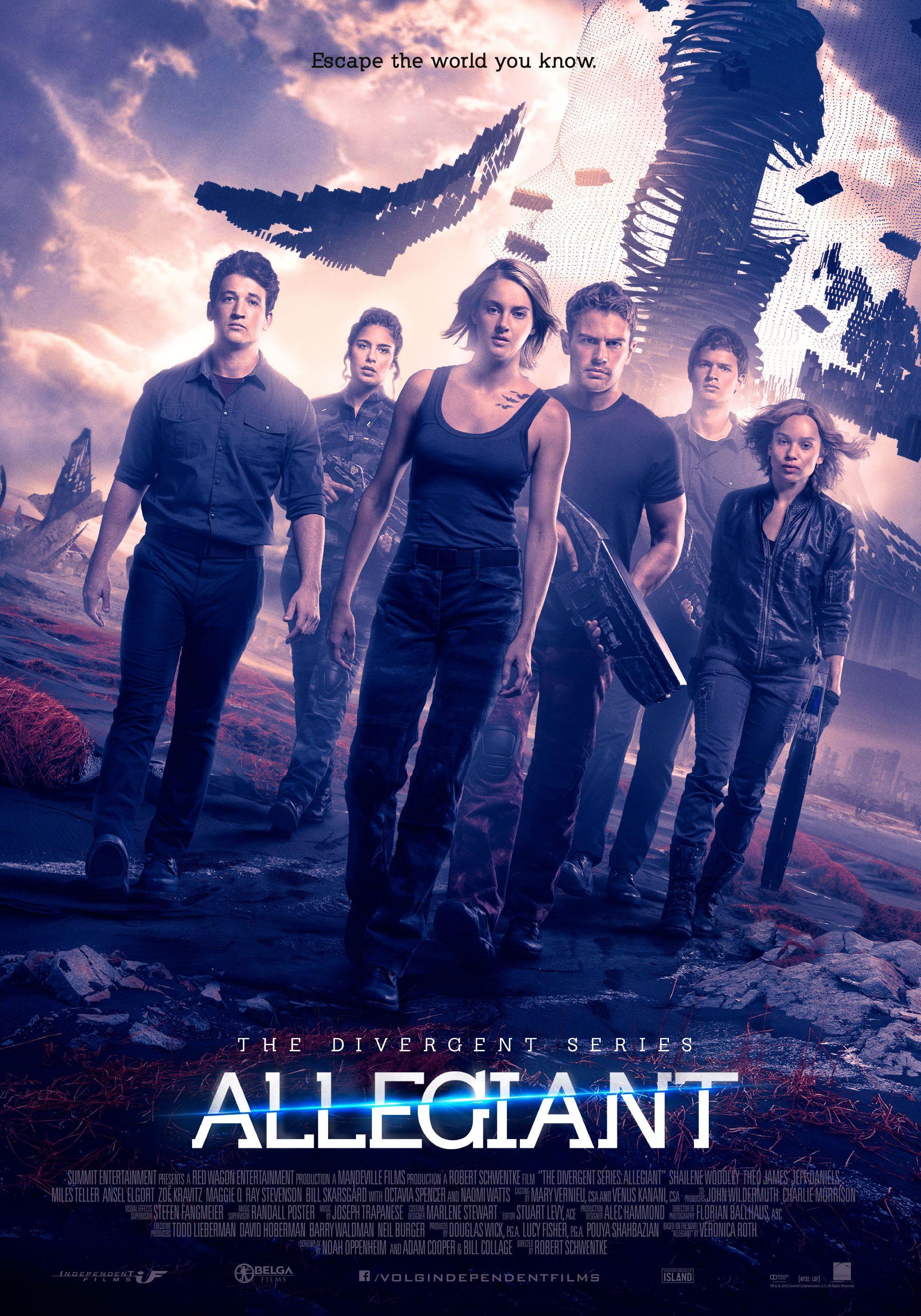 The Divergent Series Allegiant 2016 Allegiant Divergent Acteurs