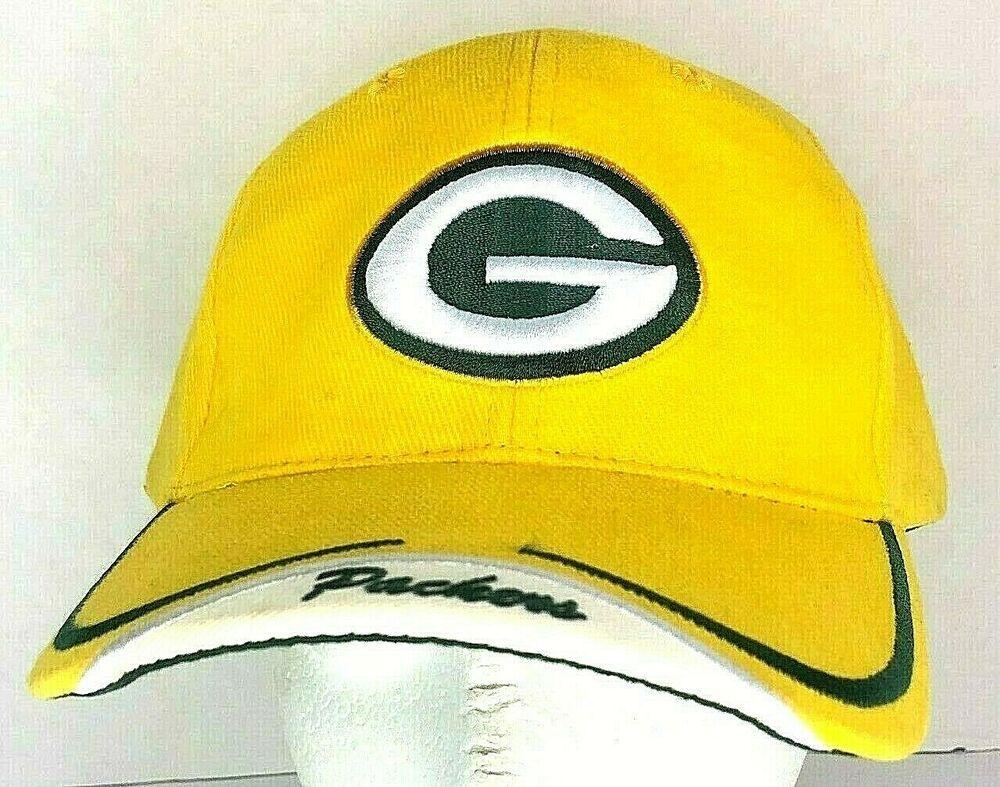 Green Bay Packers Yellow Green Baseball Cap Adjustable Nfl Footballcap Casual In 2020 Green Baseball Cap Green Bay Packers Team Baseball Cap Outfit