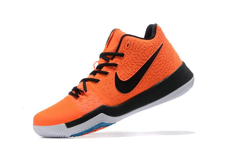 Cheap Nike Kyrie 3 NIKEID Max Orange Black Kyrie Shoes 2017