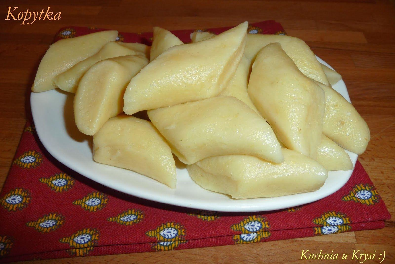 Kuchnia U Krysi Kopytka Przepis Niezawodny Recipes Cooking Recipes Food Recipies