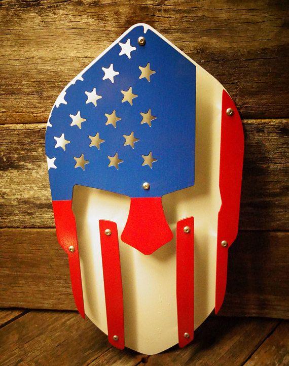 America spartan helment