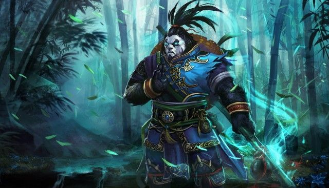 Panda nicky warrior league of angels