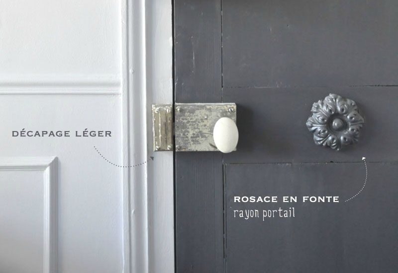 poignee-porcelaine-typo Inspiration Appartement Pinterest - poignees de porte en porcelaine