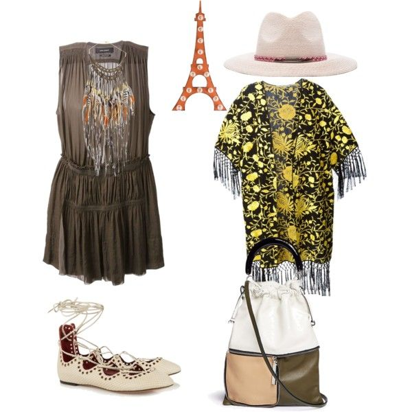 Happy Wednesday by kit92 on Polyvore featuring polyvore fashion style Isabel Marant Alice + Olivia Marni Ruby Feathers Eugenia Kim Dot & Bo