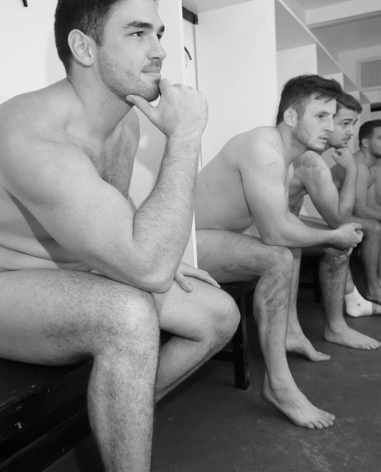 Men In Locker Room 19