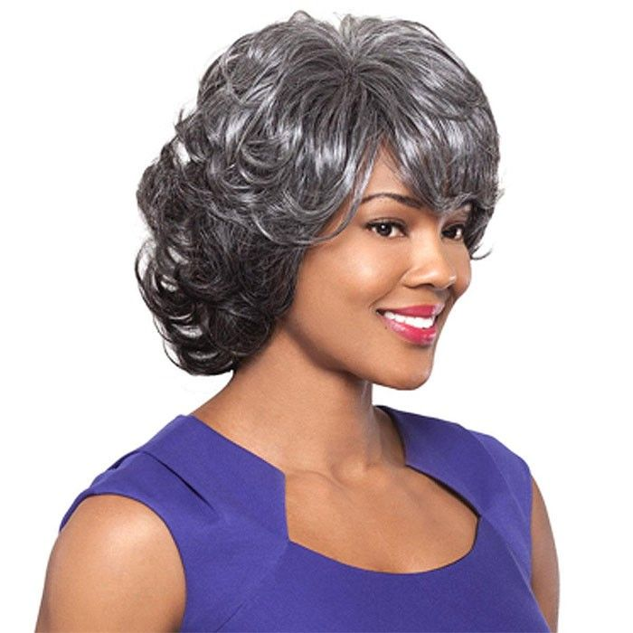 Foxy Silver Wig Germaine Hand Stitched Wig Or Whole Wig