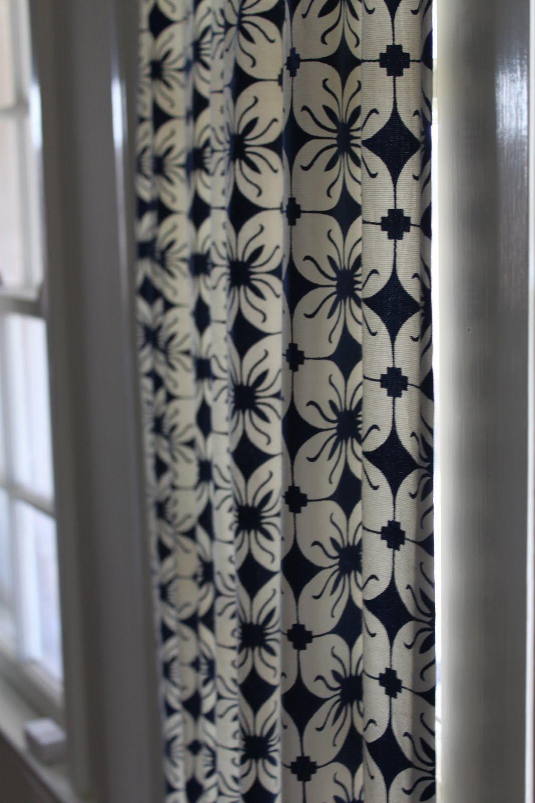 DIY French Door Curtain Panel Tutorial weekend project ...
