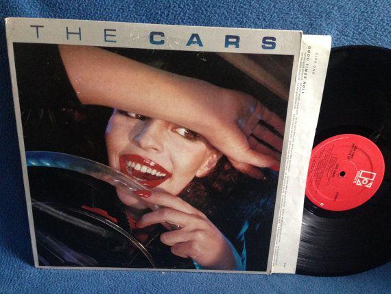 Vintage The Cars  S/T Debut Vinyl LP Record by sweetleafvinyl