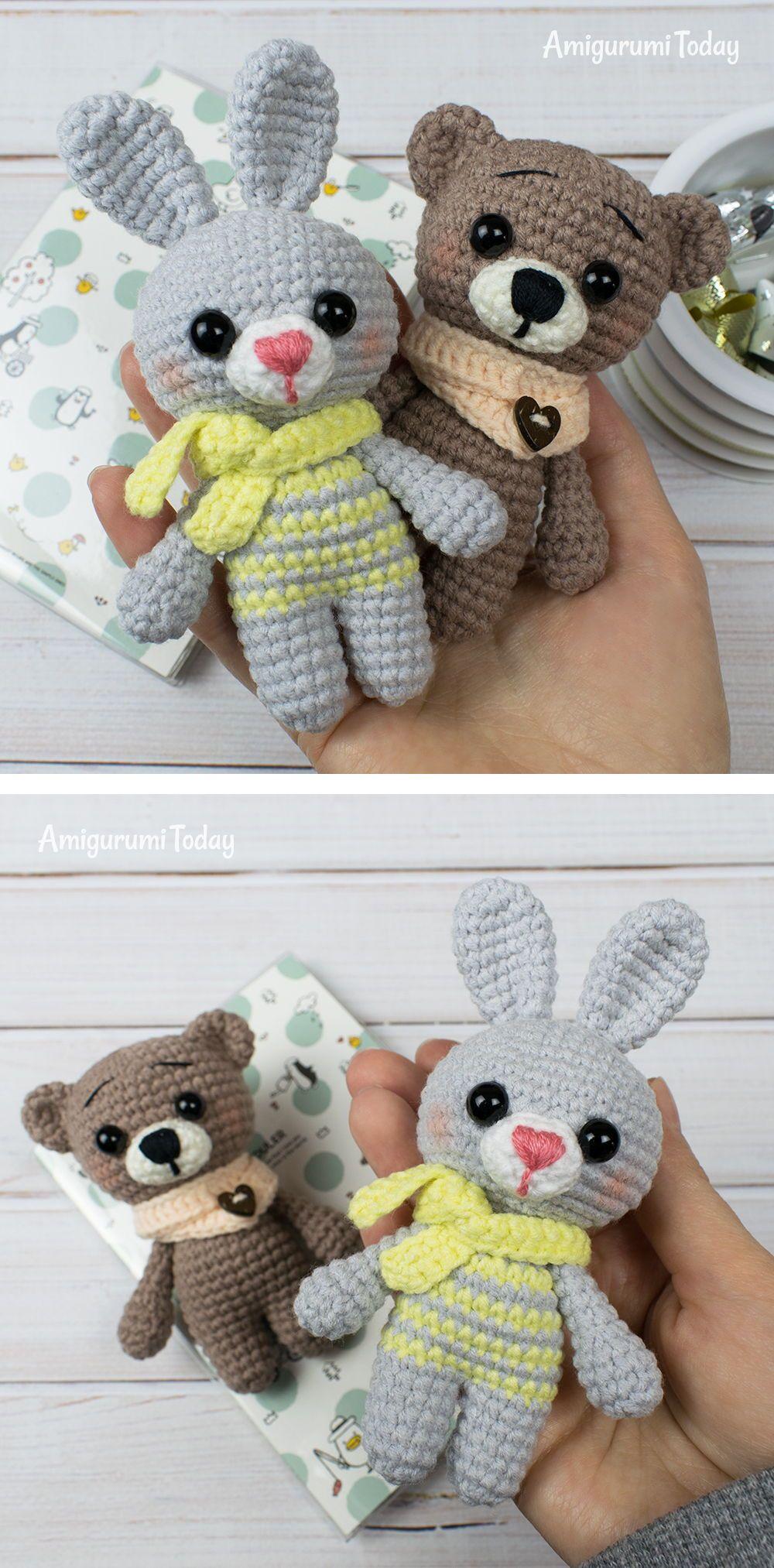 Tiny elephant amigurumi pattern - Amigurumi Today   2026x1000