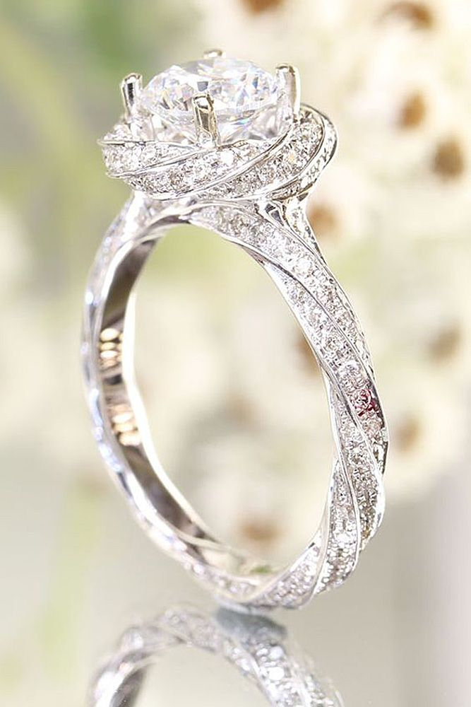 18 Utterly Gorgeous Engagement Ring Ideas See More Http Www