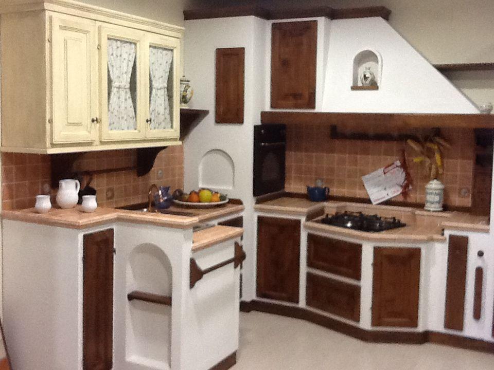 Favolosa opportunit di acquisto per rinnovo mostra cucina in muratura della apm modello - Modelli di cucina in muratura ...