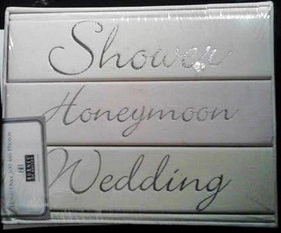 Burnes Of Boston Wedding Album Gift Set Includes 3 Albums Ebay