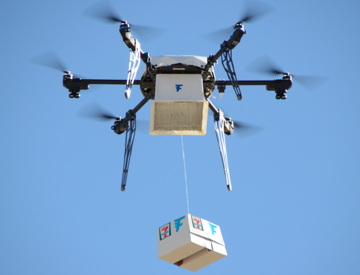 Photo of Slurpee Flies Home in First FAA-Approved Drone Delivery – Robotics Business Review