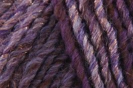 Rico Creative Melange Glitz (Chunky) - Purple-Brown (008) - 50 - Wool Warehouse - Buy Yarn, Wool, Needles & Other Knitting Supplies Online!