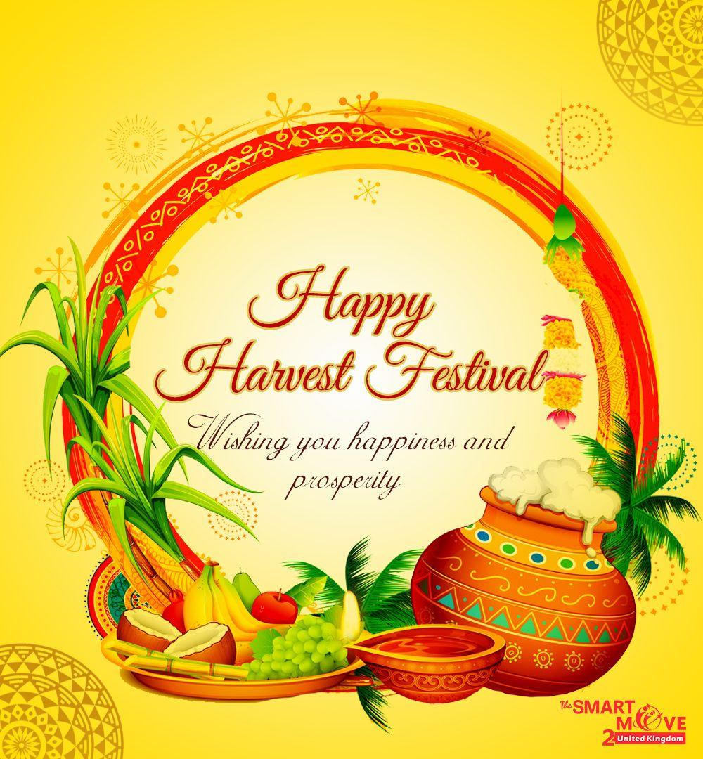Wishing you a very HappyHarvestFestival from all of us at
