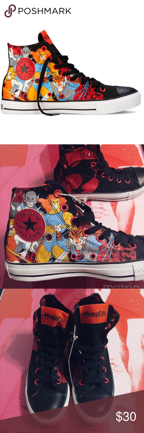 a84042dfaba91d thundercats sneakers • brand  converse • size  men s 5.5   women s 7.5 •  condition  brand new with tags Tags  cons chuck taylor cartoon anime lion-o  jaga ...