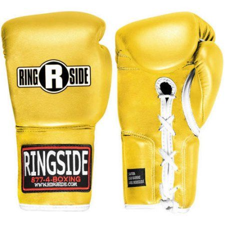 Ringside Professional Fight Gloves, Yellow