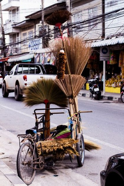 On the streets of Koh Samui / Thailand