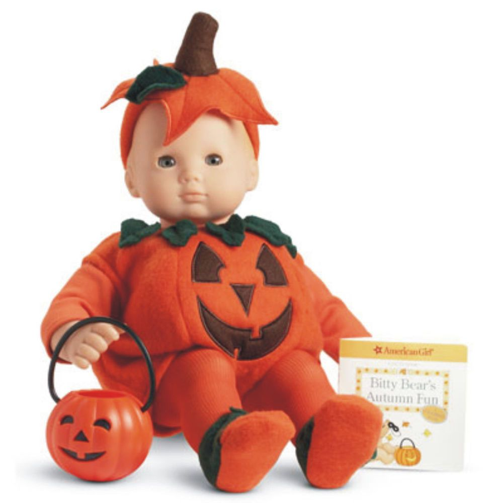 AMERICAN GIRL BITTY BABY TRICK OR TREAT SET NIB RETIRED