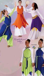 6577f52752d4 PARABLE OVERLAY Praise Dance Dresses, Praise Dance Wear, Dance Sing, Worship  Dance,