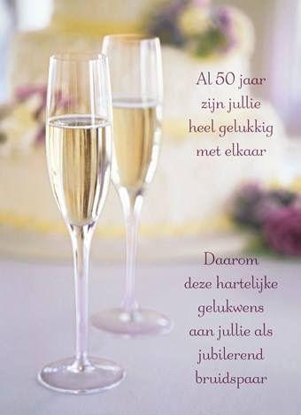 Bruidspaar Gefeliciteerd