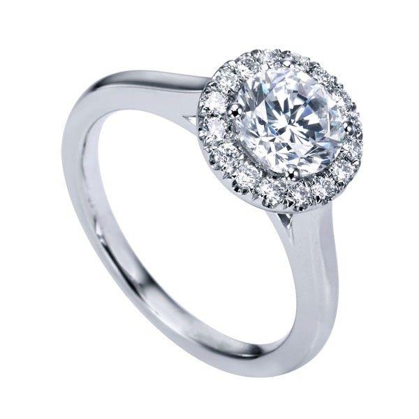 Genesis Designs W-ER7265 Engagement Ring- Genesis Diamonds