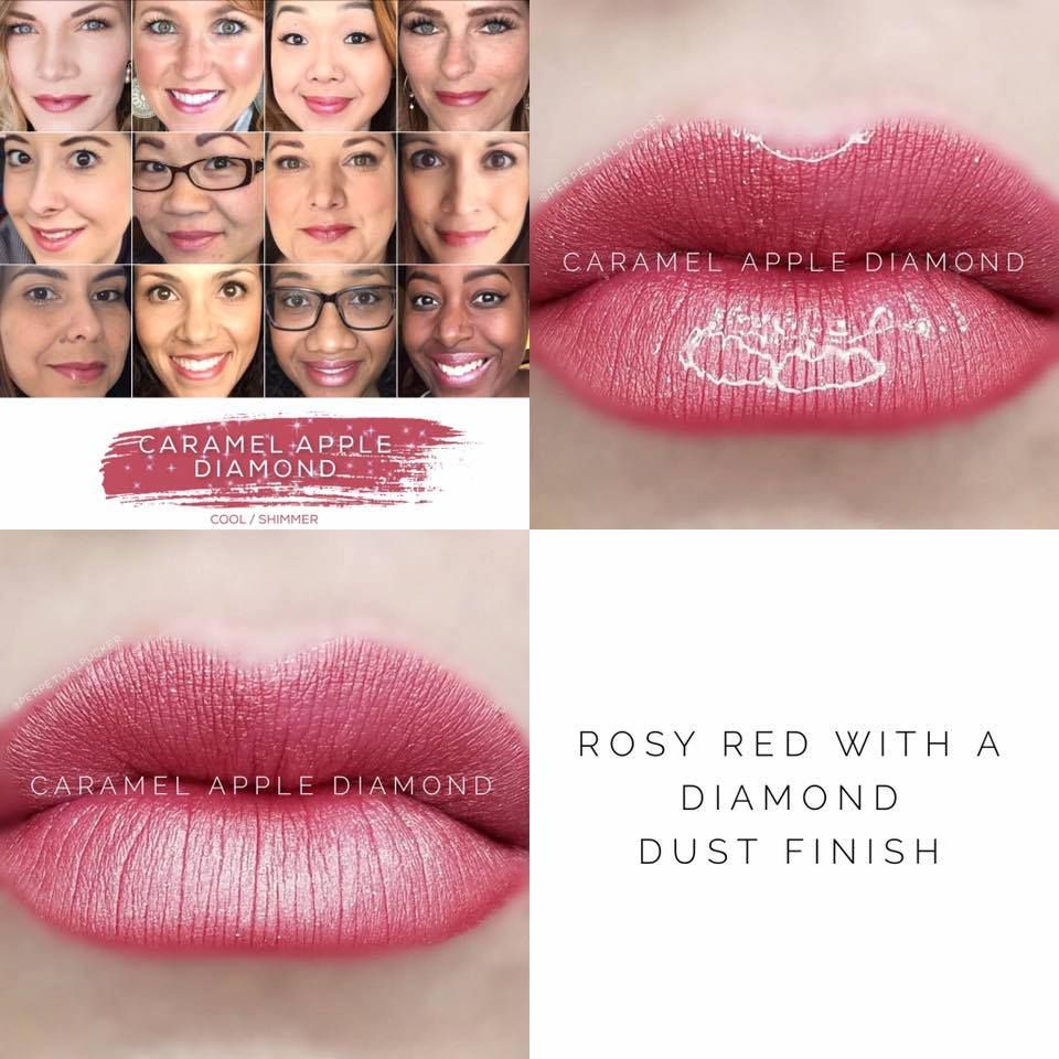Caramel Apple Diamond - LipSense #thebeautyofus