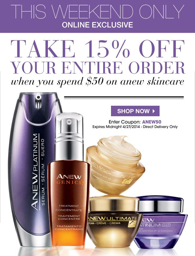 This is a great deal  shop today at www.youravon.com/Ldegante