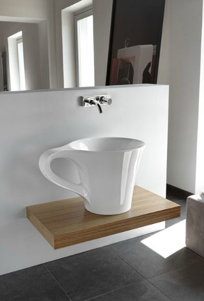 Sinks and Faucets -- Coffee Cup Vessel Sink