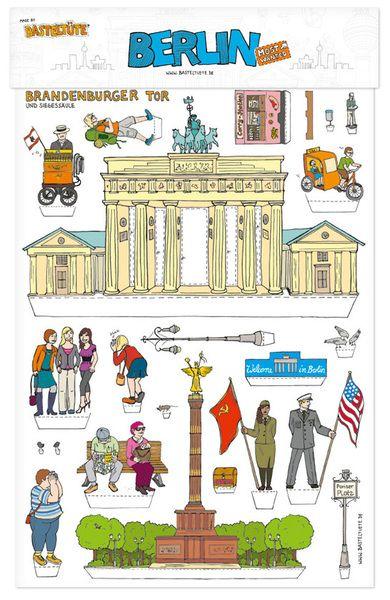 4 90 Pattern Berlin Bastelbogen Basteln Berlin
