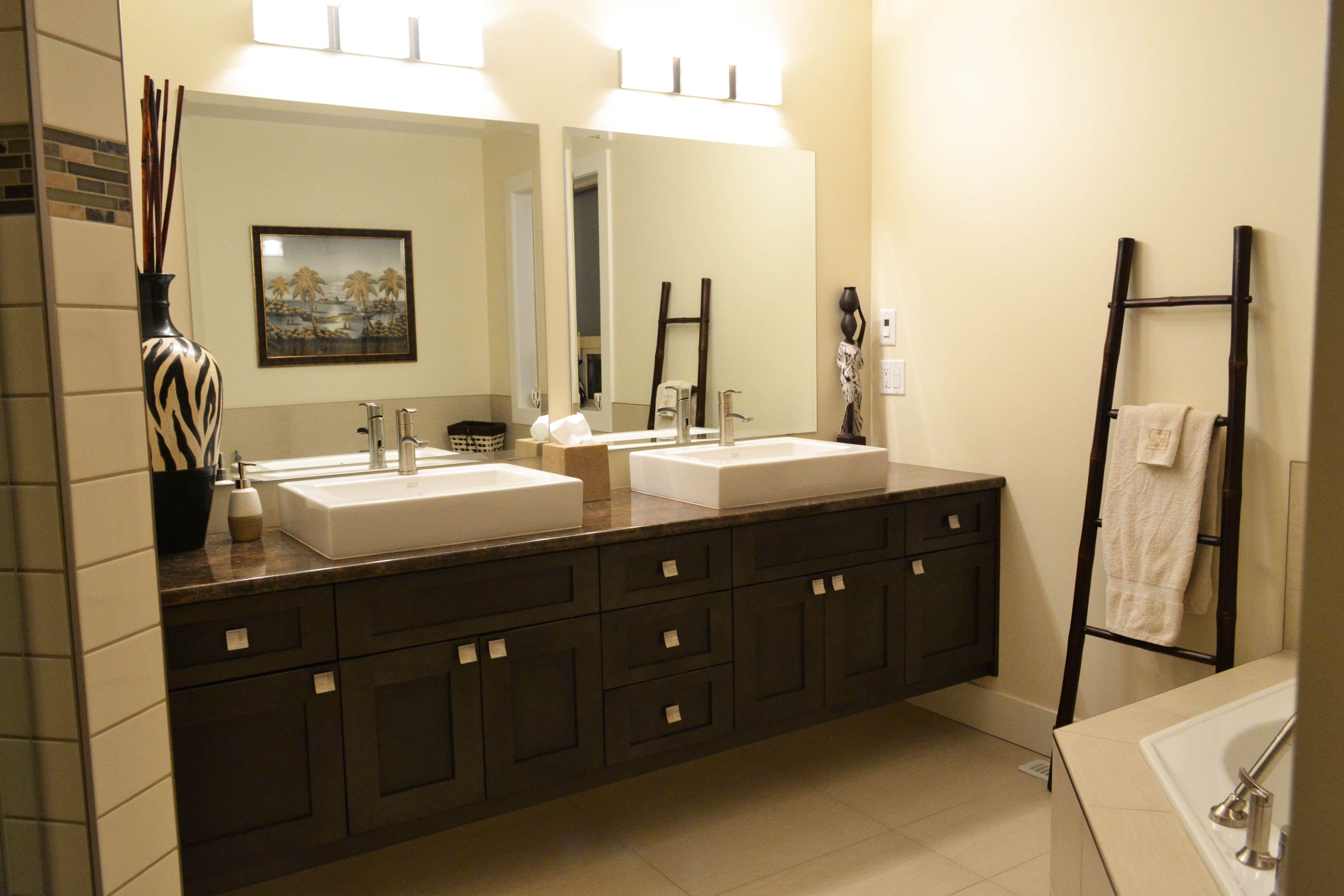 raised sinks  bad doppelwaschtisch badezimmer kleine