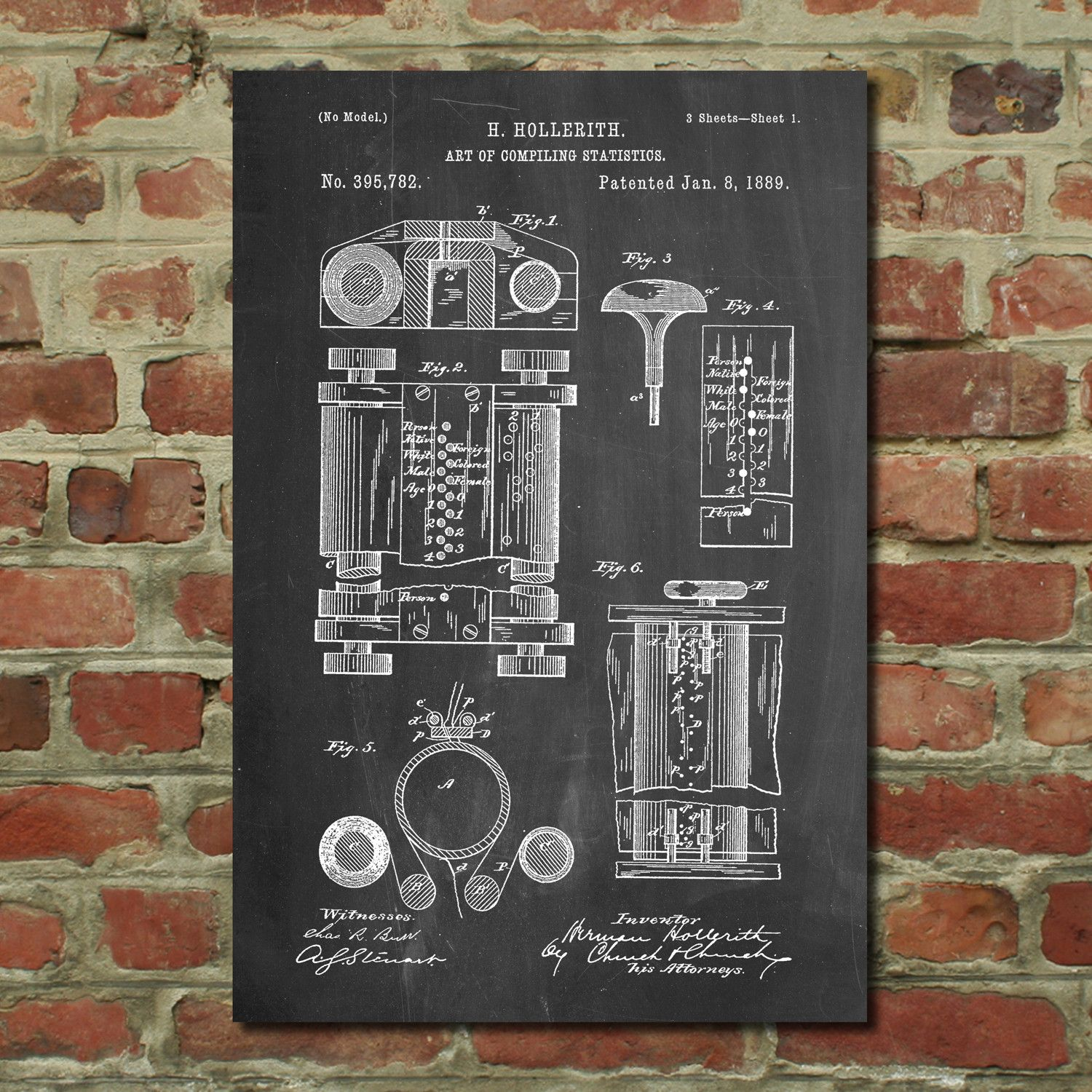 First computer blueprint patent posters touch of modern first computer blueprint patent posters touch of modern malvernweather Image collections