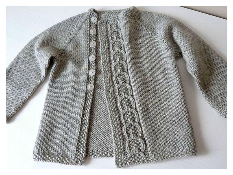 Olive You Baby Cardigan Free Knitting Pattern | Baby cardigan ...