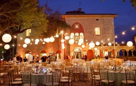 Great Elegant Outdoor Wedding Decoration Idea Using Paper Lanterns And String  Lights. You Can Get Those