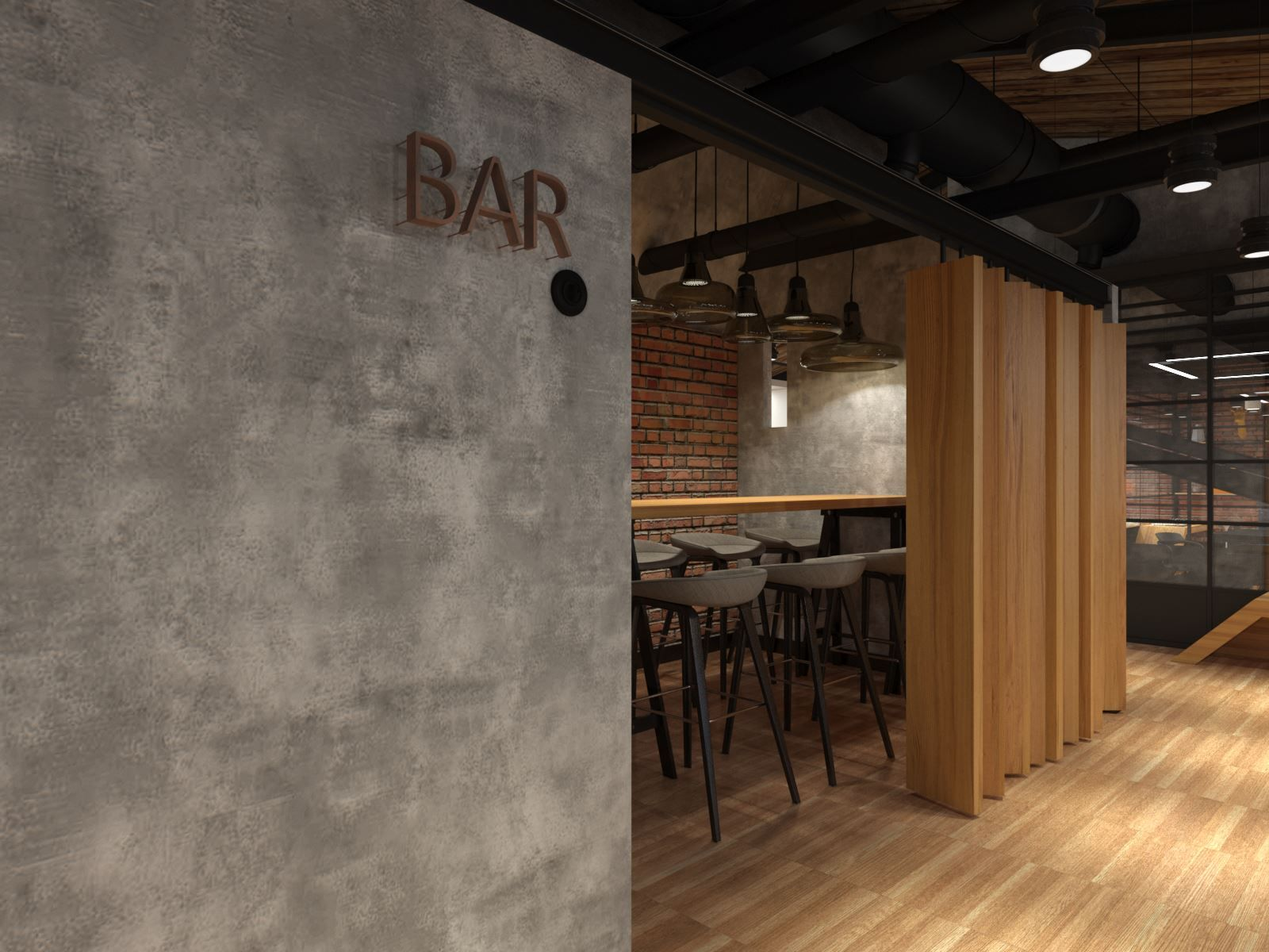 Loft Office Coffee Point By Meandre