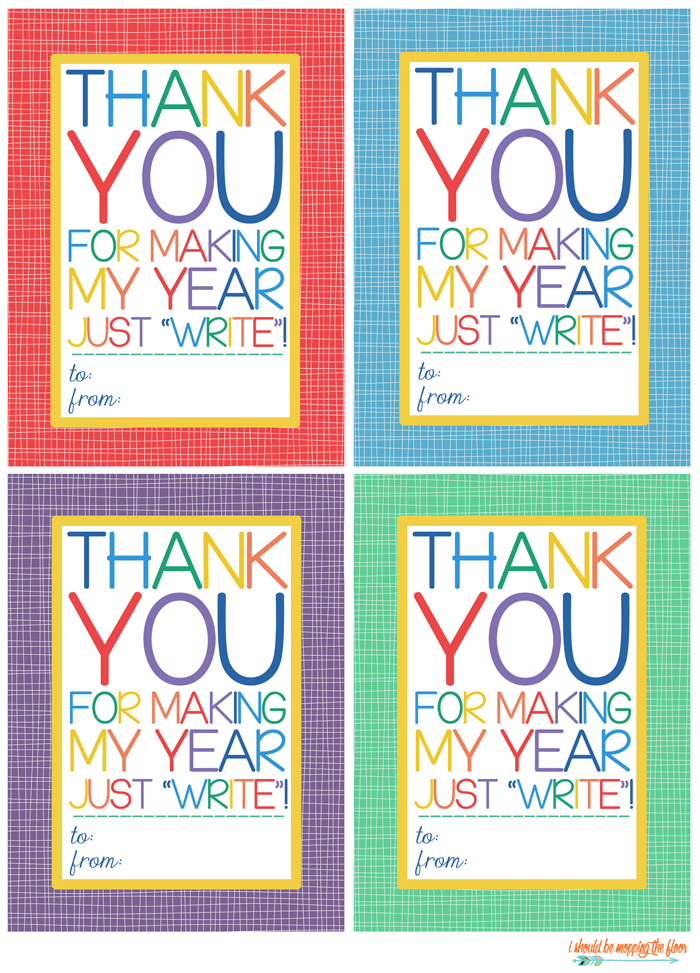 It's just a graphic of Stupendous Teacher Appreciation Tags Printable