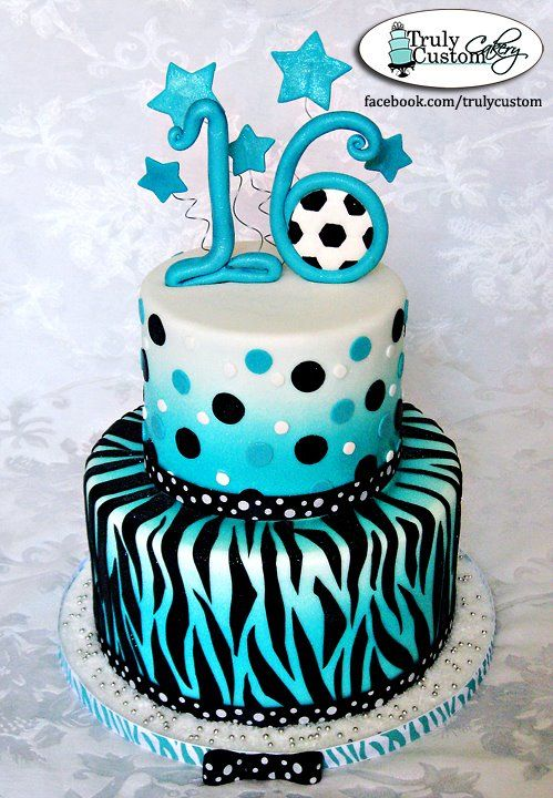 Awesome soccer cake Getting this for 16th birthday Soccer Team