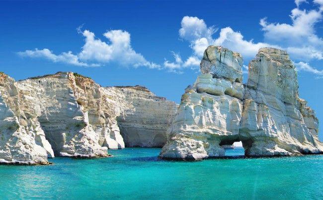 Il Mare di Perlite tra Poliegos e Milos   OnTheRoad  <3