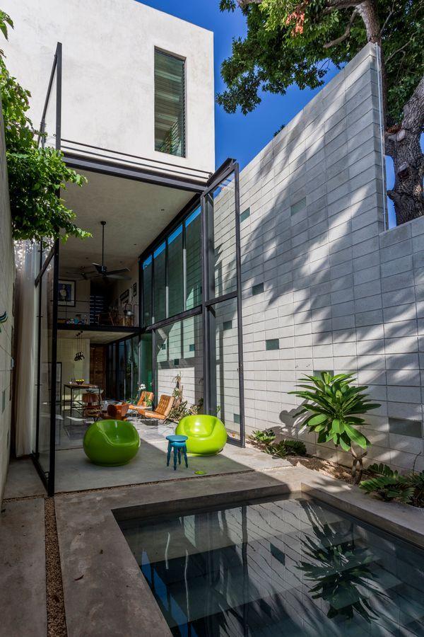 casa desnuda taller estilo arquitectura interiorismo