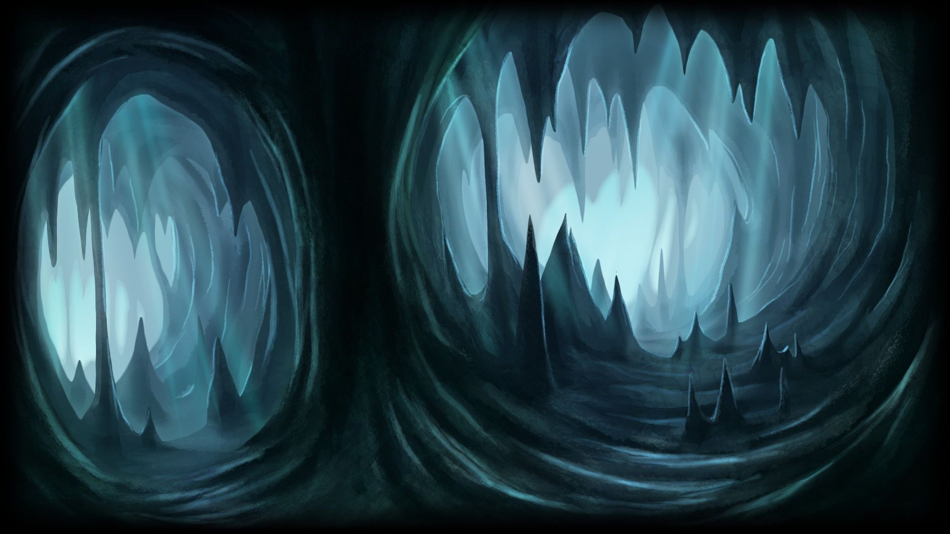 2d cave background - Google 검색 | 2d game background | 2d