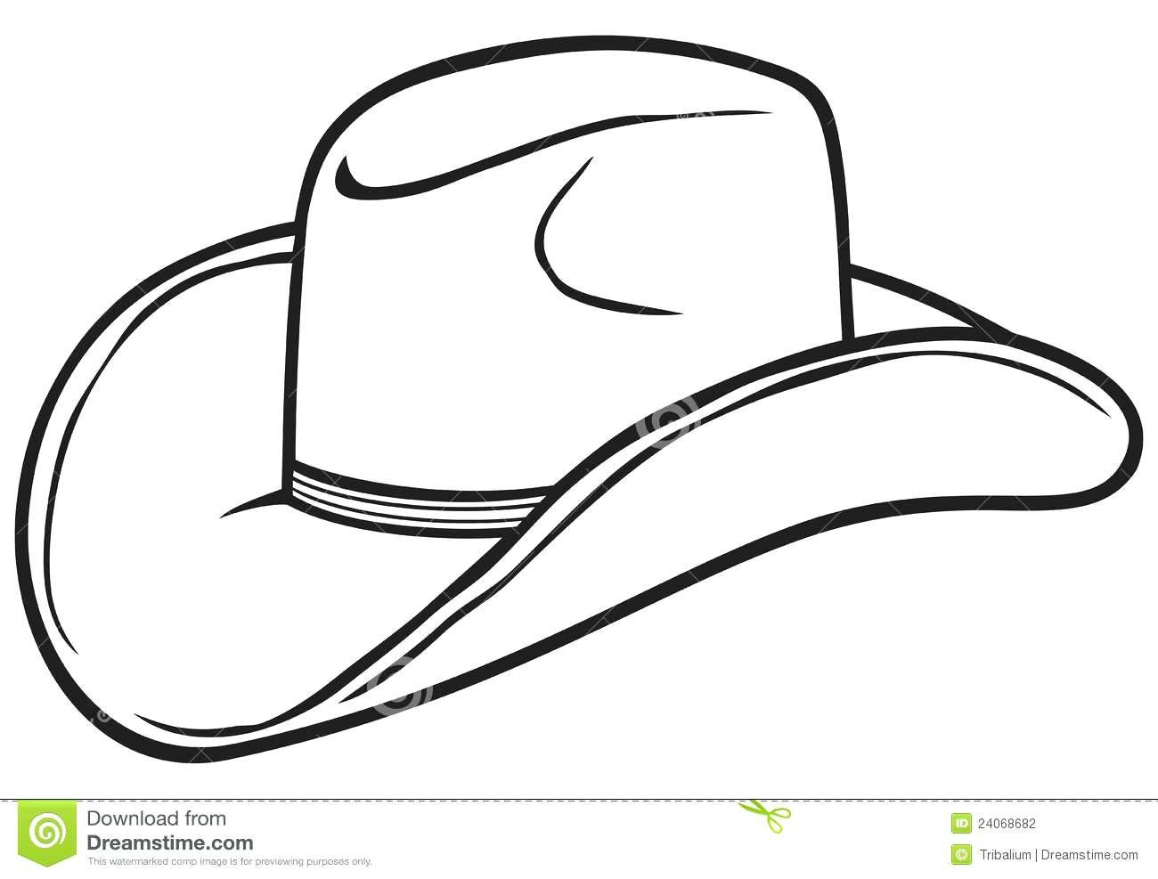 Cowboy Hat Coloring Page Pages For Children Stuning Cowboy Hats Kids Cowboy Hats Cowboy Hat Drawing