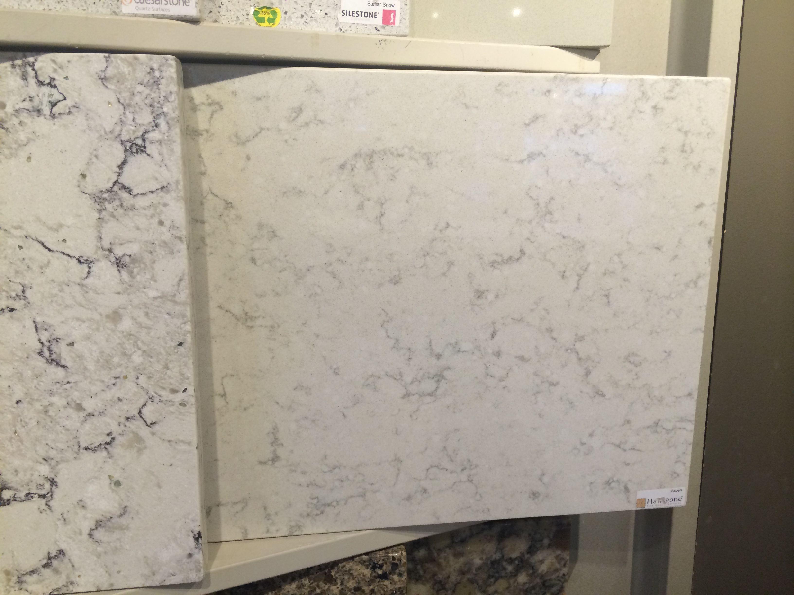 Hanstone Quartz Aspen Quartz Kitchen Countertops Master Bedroom Bathroom Hall Bathroom