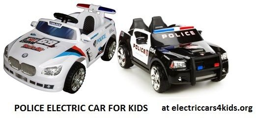 Electric Police Car For Kids Electric Cars For Kids Kids Police Car Police Cars Childcare