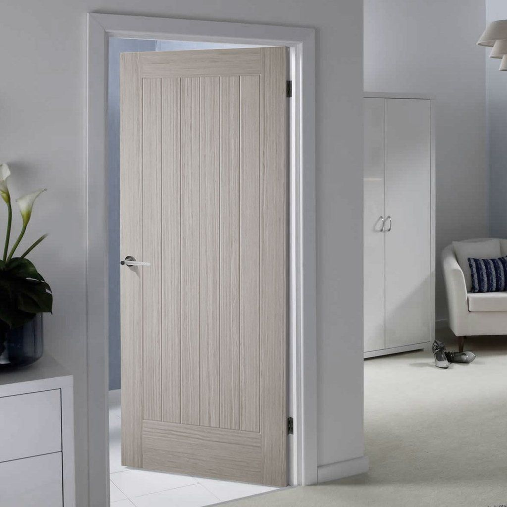 Somerset Light Grey Internal Door Is 1 2 Hour Fire Rated And Prefinished Contemporaryinterior Moderni Wood Doors Interior Grey Internal Doors Internal Doors