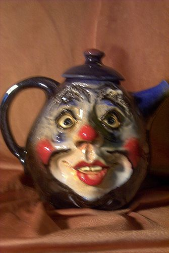 Who knew teapots could be creepy!!