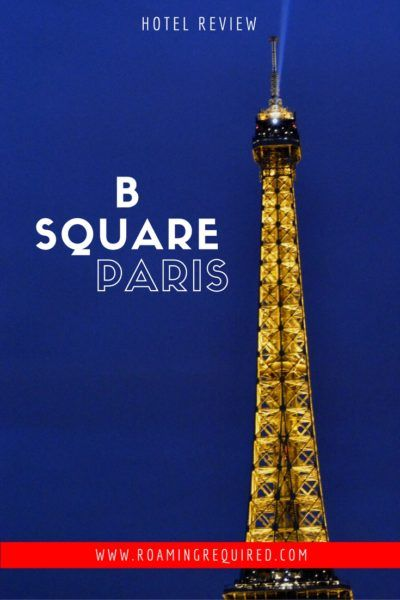 Everything S Hip At B Square Paris France Travel Ideas