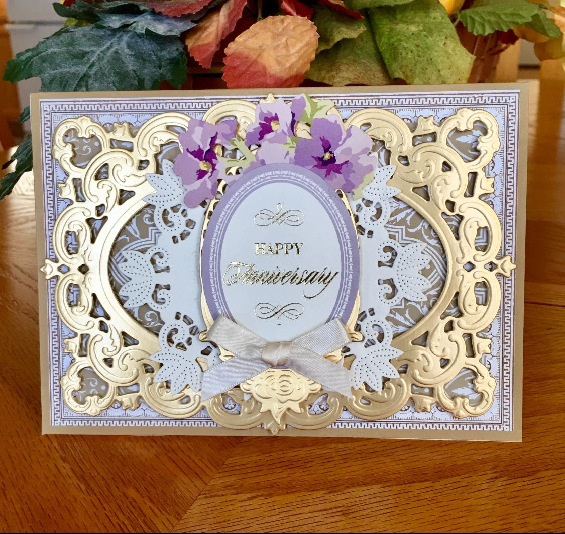 anna griffin perfect patterns card base fancy frames die