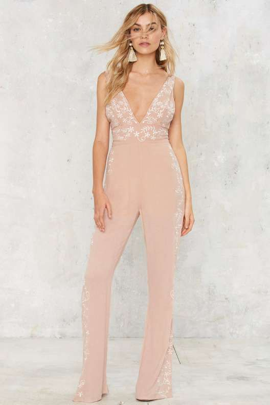 f32c29cb Preston Embroidered Jumpsuit - Rompers + Jumpsuits | fabulous ...