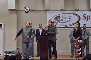 Mizoram Pro Volleyball Tan Dawn Nasa Chen Division